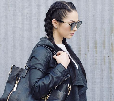 nice 25 Incredible Two Dutch Braid Styles - Looks For You To Fall In Love With # dutch Braids awesome # dutch Braids awesome # dutch Braids awesome