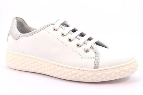 CAFè NOIR MDD111 1791 BIANCO ARGENTO DD111 Donna Sneakers