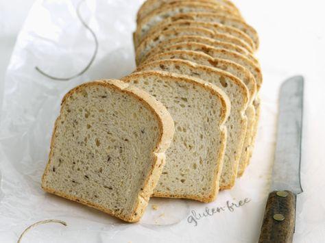 Eine Glutenallergie bedeutet nicht gleich auf Brot verzichten zu müssen! Glutenfreies Brot mit Leinsamen - smarter - Zeit: 30 Min.   eatsmarter.de