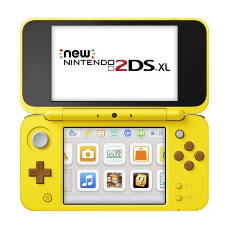 Nintendo 2ds Xl Yellow Pikachu Edition Walmart Com Nintendo 2ds Nintendo Nintendo News