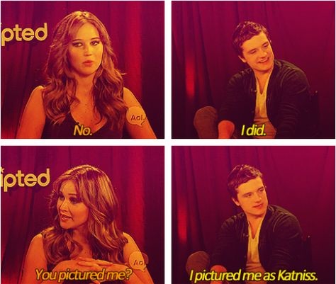 """Jen and Josh answer the question: """"When you first read the ..."""