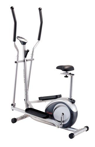 Sunny Health Fitness 2 In 1 Elliptical And Vertical Body