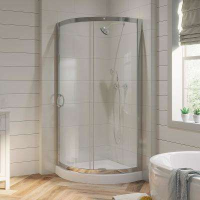 Shower Stalls Kits Showers The Home Depot In 2020 Corner Shower Kits Corner Shower Shower Kits