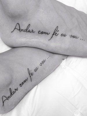 Tattoo No Pé Google Search Tatuagens Que Combinam