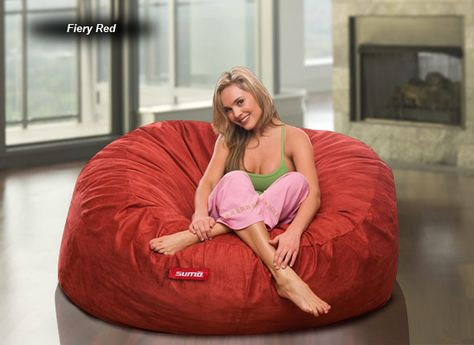 Brilliant Sumolounge Sumo Sultan Bean Bag Chair Red Micro Suede 249 Bralicious Painted Fabric Chair Ideas Braliciousco