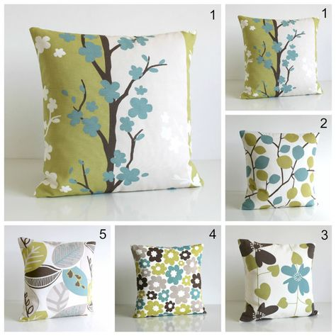 10x10 inch Yellow cushion cover pillow