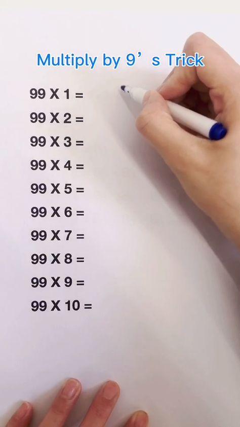 Math trick, makes calculation faster than your teacher