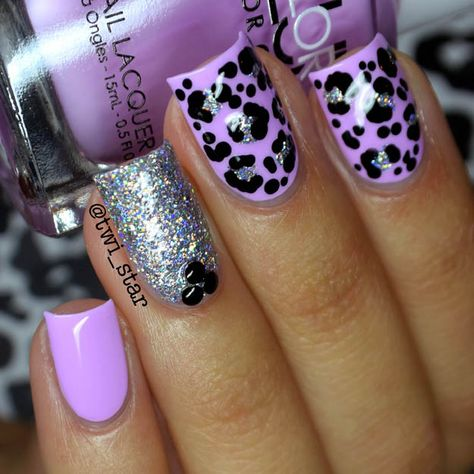 Purple nail art designs look amazing on any nail length, so choose the design which matches well with your lifestyle. Women who always look for new nail art
