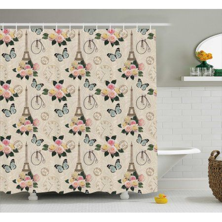 Shower Curtains And Shower Curtain Hooks Shabby Chic Bathroom Shabby Chic Bedrooms Modern Shower Curtains