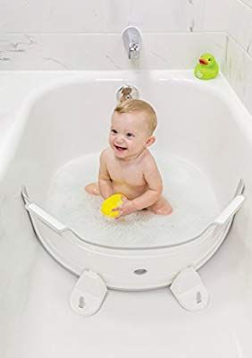 Amazon Com Babydam Bathtub Divider Baby Baby Bath Time Baby Bath Baby Bath Tub