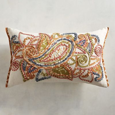 Paisley Lumbar Pillow Pillows Accent Throw Pillows Pillow Pattern