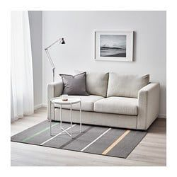 Nårup Rug Low Pile Grey Multicolour House Our Home