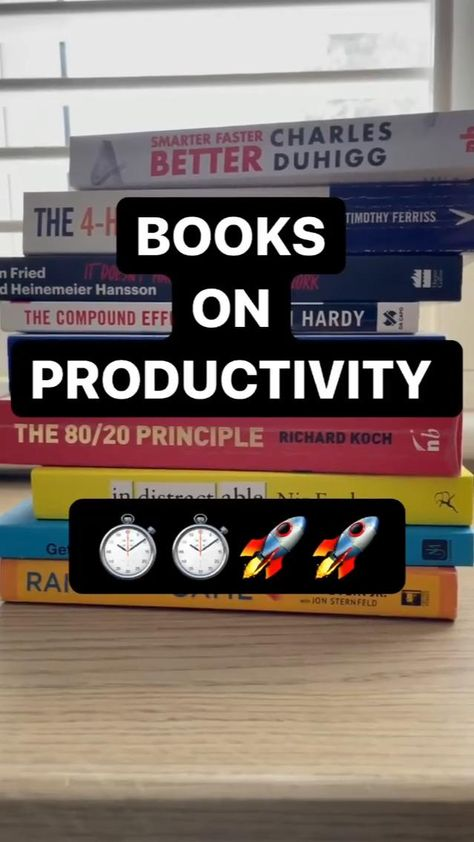 books on productivity