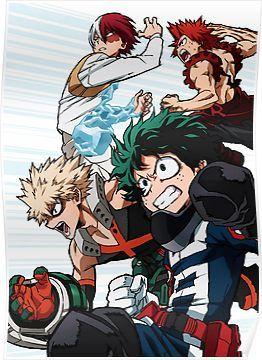 My Hero Academia Poster Personajes De Anime Dibujos Molones Fondo De Anime