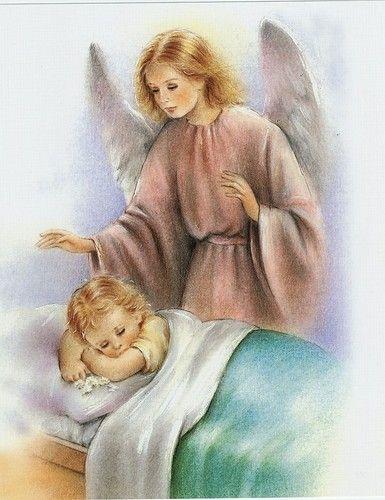 Guardian Angel portrait