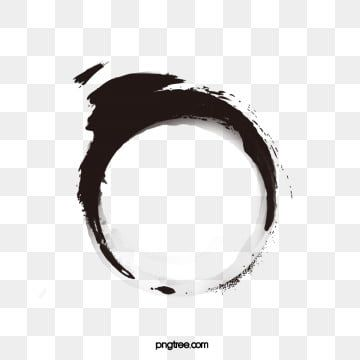 Chinese Ink Style Circle Chinese Clipart Circle Clipart Ink Marks Png Transparent Clipart Image And Psd File For Free Download Ink Brush Circle Clipart Ink