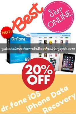 Dr Fone Iphone Data Recovery Coupon Code Gutschein Code