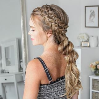 12 Braids For Spring In 2020 Hair Videos French Twist Hair Hair Styles