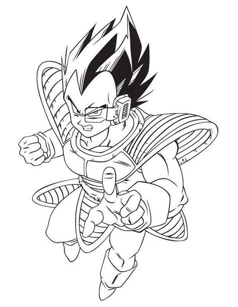 Dibujos De Dragon Ball Z Para Colorear E Imprimir Con Imagenes