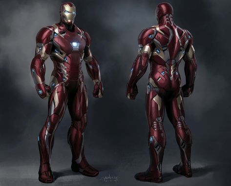 Iron Man Mark 45 aus Avengers 2 - Age of Ultron
