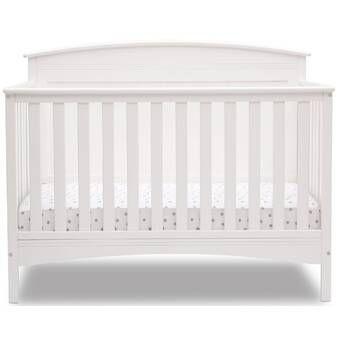 Davinci Kalani 4 In 1 Convertible Mini Crib And Twin Bed White Convertible Crib Cribs Mini Crib