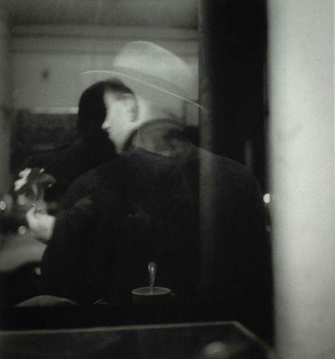 Saul Leiter, Self Portrait      ca.1952