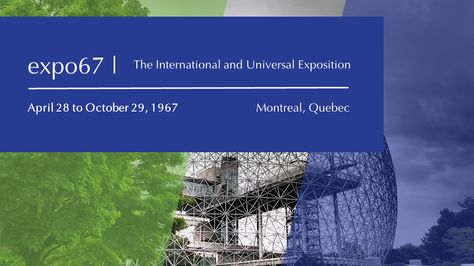 """The 1967 International and Universal #Exposition, welcomed over 50 million visitors in six months #parcjeandrapeau #world #biosphere"