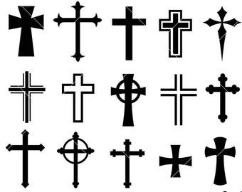 dxf Nail Cross svg,Three Nails Cross svg,Instant,Dark silhouette,Instant Download,SVG jpg digital download EPS PNG