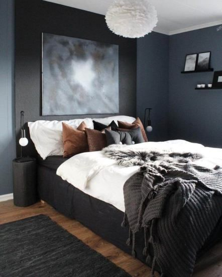 20 Popular Bedroom Paint Colors Ideas That Give You Relax Bedroom Color Schemes Bedroom Paint Colors Rustic Bedroom Design