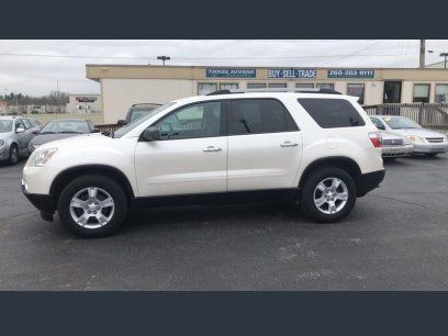Used 2012 Gmc Acadia Awd Sle For Sale In Fort Wayne In 46805