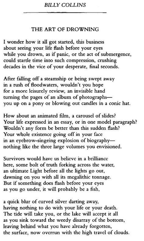 Billy Collins Poetry Billy Collins Poetry Poems