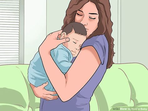 Whether you're a first-time parent holding your baby, or a proud relative snuggling the newest addition to your extended family, it's essential to learn how to hold an infant properly.