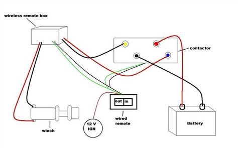 warn winch solenoid wiring diagram with Wiring Diagram Ironman Winch on Wiring Diagram For Warn 2500 Winch in addition Dc 12v Wireless Remote Control Wiring Diagram moreover Warn Winch 4 Solenoid Wiring moreover My Myte Winch Wiring Diagram besides Badland 12000 Lb Winch Wiring Diagram.