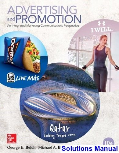Advertising And Promotion An Integrated Marketing Communications Perspective 10th Edition Belch Solutions Manual Digital Deal Promotion 2021 Integrated Marketing Communications Advertising And Promotion Marketing Communications