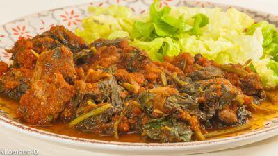 Sauce D Epinards A La Viande Recette Recettes De Cuisine Africaine Recette Recette De Plat