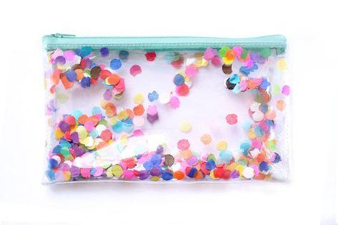 small confetti bags