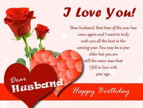 Romantic Birthday Wishes For Husband Birthday Images For Husband