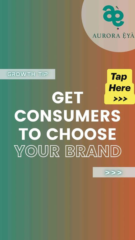 Figure out the Unique thing your brand should offer to differentiate it from competitors