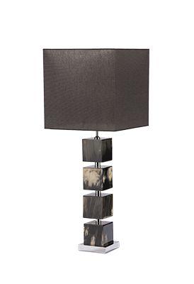 Cowlight Marbled #CRAVT Original #Lamp #Horn #Ethnic #Blocks