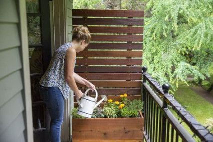 5 Ideen Balkon Screening DIY Veranden Balkon Garten #Balkon