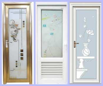 Get To Know Some Door Materials For Bathrooms At Low Prices In 2020 Bathroom Doors Types Of Doors Minimalist Bathroom