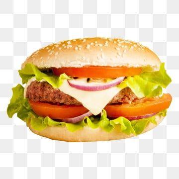 Hamburguesa Clasica Verduras Frescas Fondo Png Transparente Comida Hamburguesa Con Queso Vegetariano Png Y Psd Para Descargar Gratis Pngtree Burger Fresh Burger Food Clipart