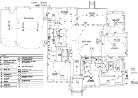 Important Electrical Outlets to Your Home - electrical layout plan