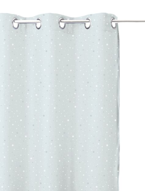 rideau occultant gris etoile pour