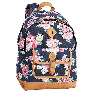 Northfield Navy Bloom Burst XL Backpack  pbteen  3d05b633de7d5