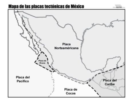 Mapas De Placas Tectónicas Para Descargar E Imprimir Mapas