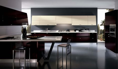 Black Kitchen Cabinet Design Ideas Commercial Kitchen Design Ideas