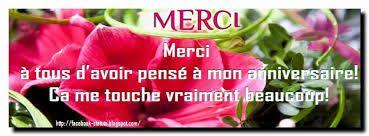 Message De Remerciement Pour Anniversaire Sur Facebook