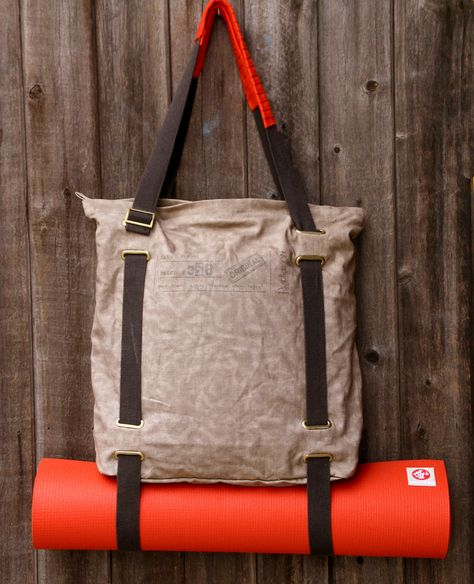 I Really Love This Bag And The Mat Attached To It Yoga Tote Bag Yoga Bag Bags