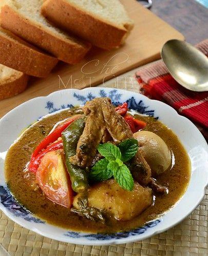 Resipi Kurma Ayam Sama Telur Dapur Tanpa Sempadan Malaysian Food Asian Recipes Food